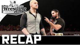 monday night Raw recap wwe wrestling