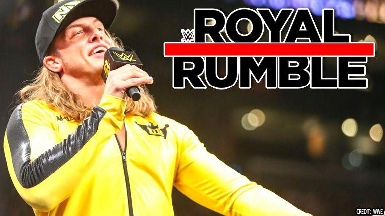 matt riddle royal rumble wwe nxt