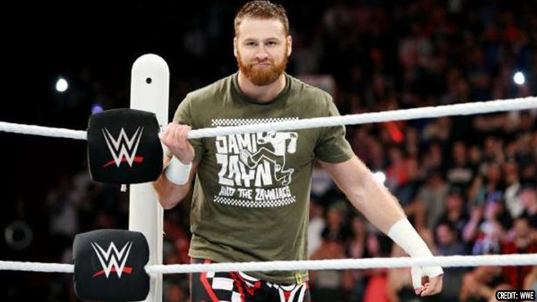 sami zayn chris jericho not even close to returning talk is interview wwe raw advertisement vignette