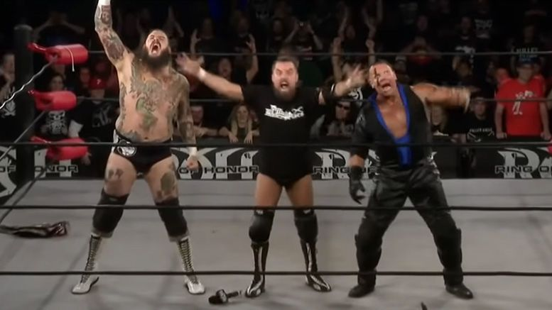 brody king pco marty scurll villain enterprises roh video debut