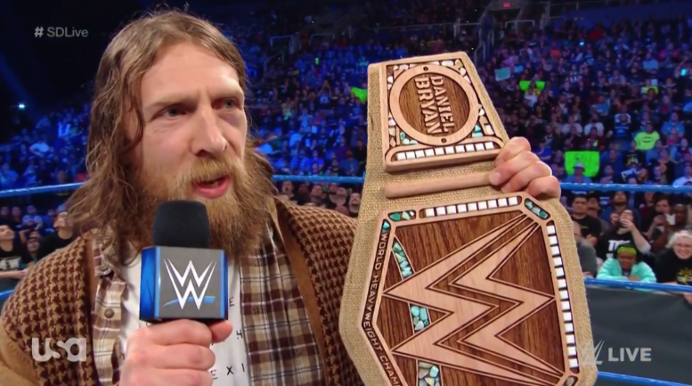 hemp wwe championship daniel bryan smackdown video