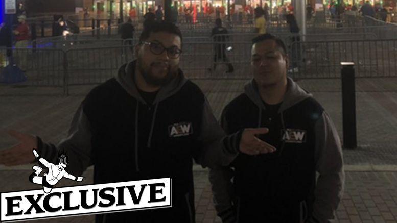 all elite wrestling merch banned smackdown turned away taping pro wrestling tees