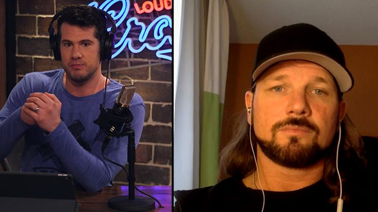aj styles angry angered gillette commercial toxic masculinity interview louder with crowder