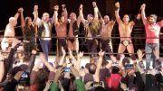 bar wrestling the elite surprise appearance video