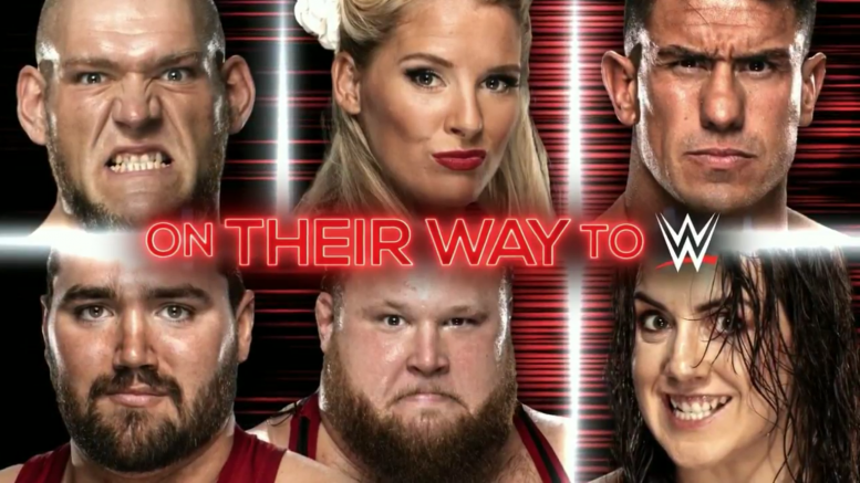 nxt call ups debut main roster lacey evans ec3