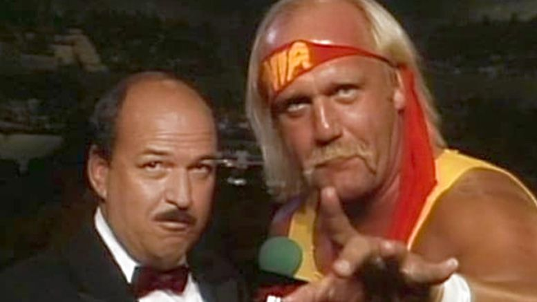 hulk hogan mean gene okerlund raw return