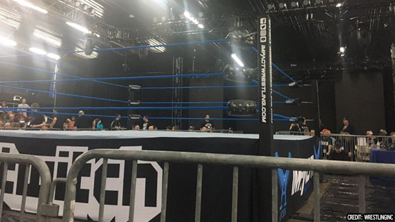 impact wrestling power out tv tapings