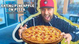 pineapple pizza lance archer njpw spit water