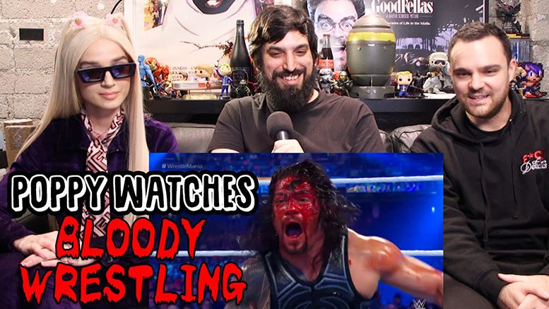 poppy bloody wrestling x nxt takeover phoenix