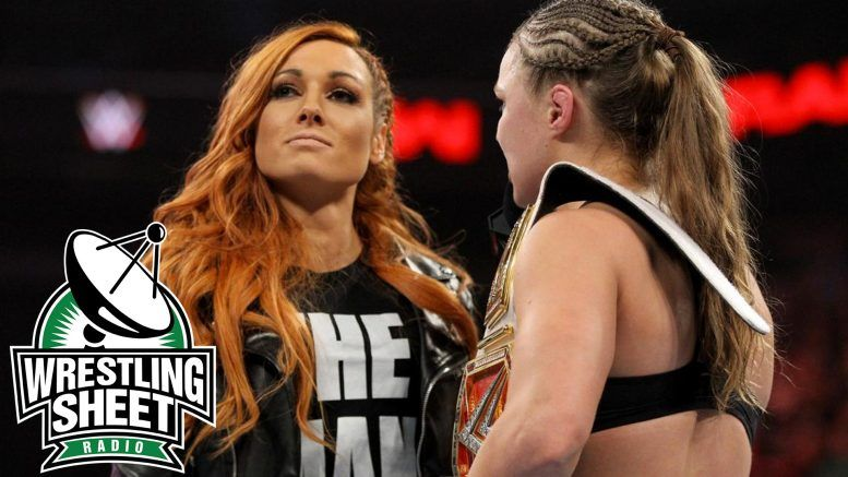 raw recap wwe ronda rousey becky lynch wrestlemania