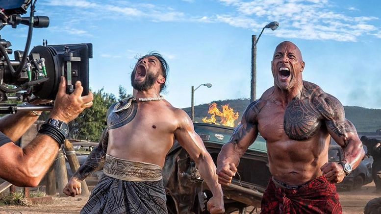 roman reigns the rock fast furious hobbs shaw