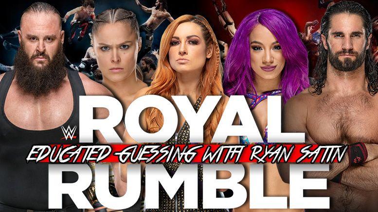 royal rumble predictions ryan satin pro wrestling sheet