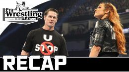 smackdown recap show pro wrestling sheet becky lynch