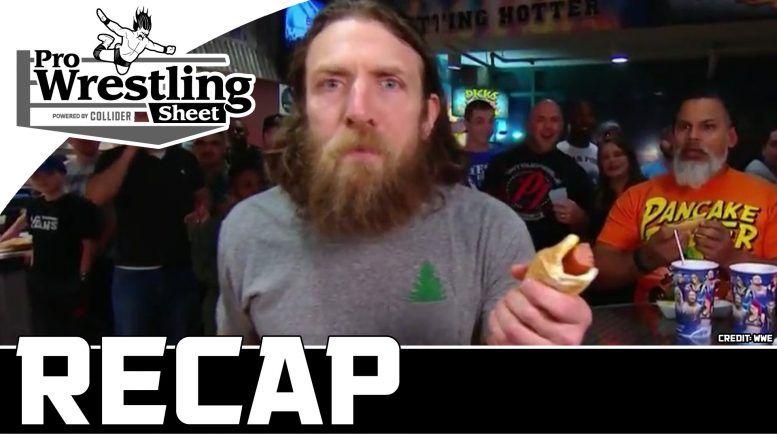 smackdown live recap show pro wrestling sheet collider