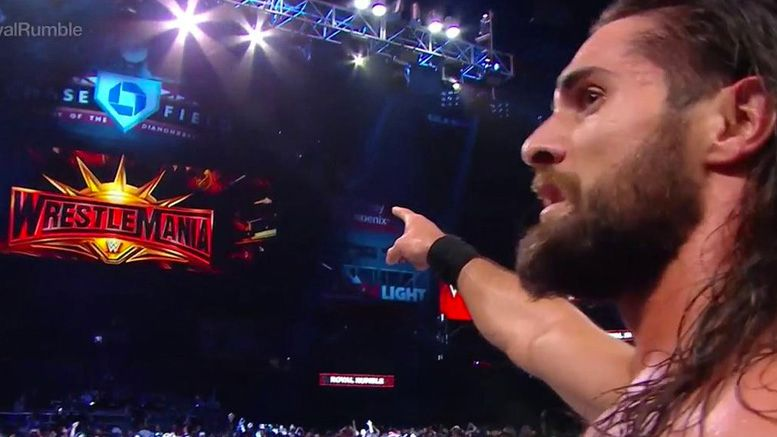 seth rollins royal rumble winner video