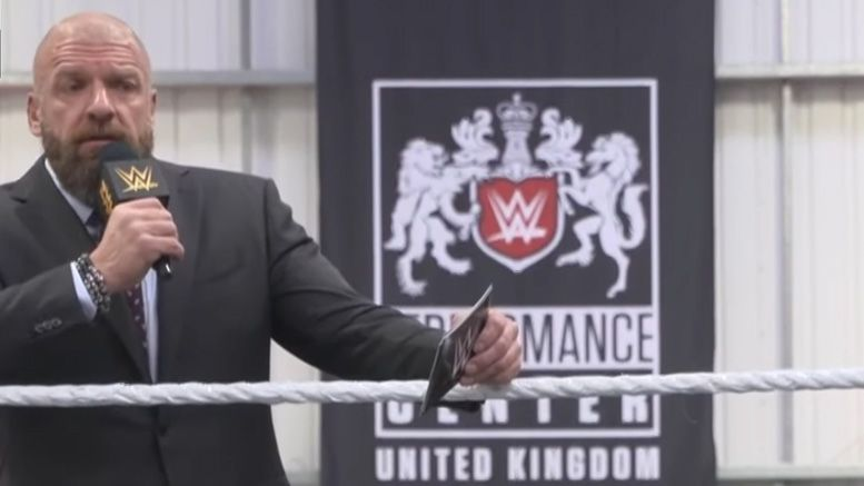 triple h wwe performance center uk multiple international