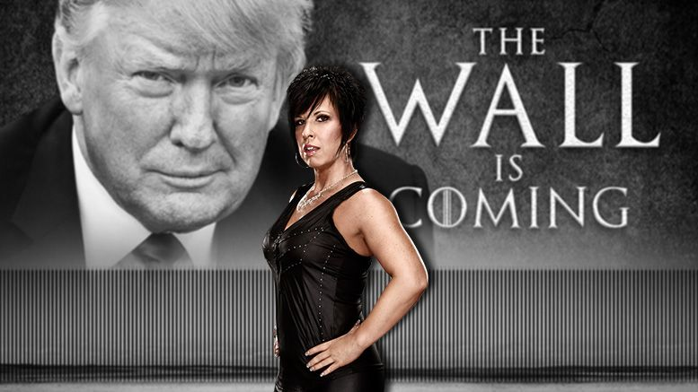 vickie guerrero donald trump border wall support