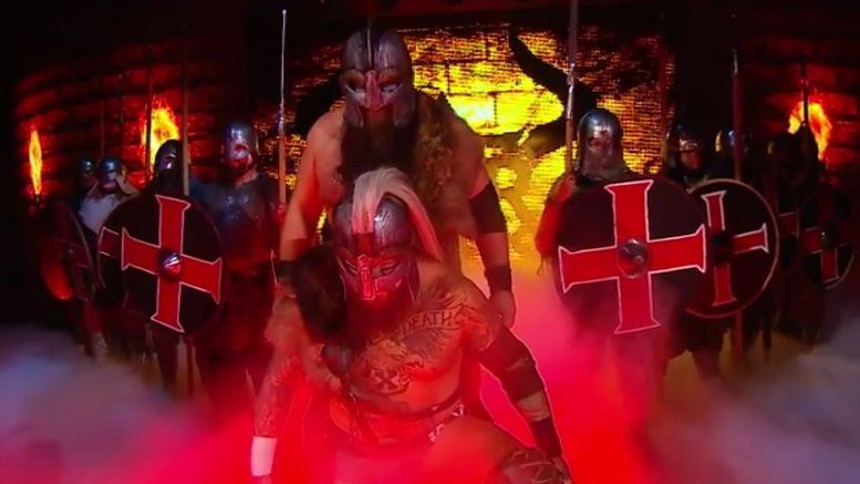 war raiders entrance nxt takeover phoenix
