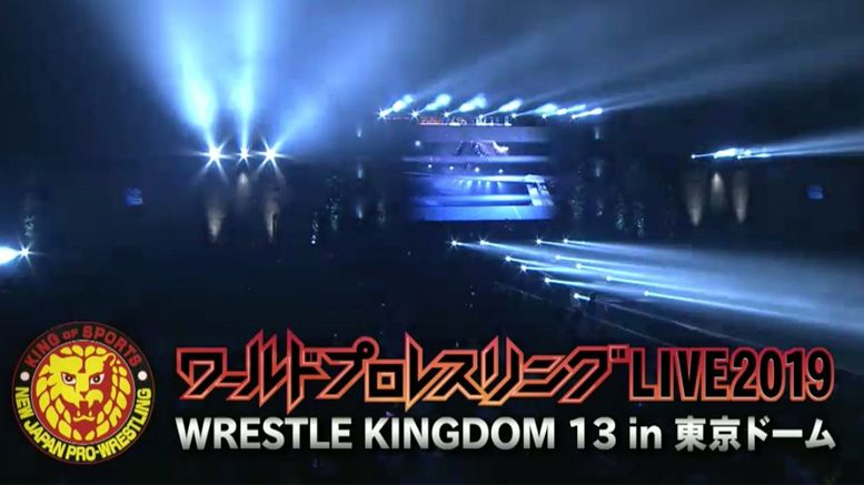 wrestle kingdom 13 results title changes