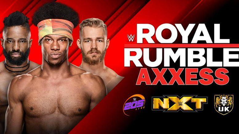 wwe worlds collider tournament nxt uk 205 live axxess royal rumble weekend