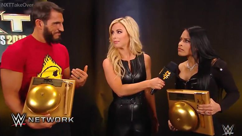 zelina vega nxt takeover andrade match of the year