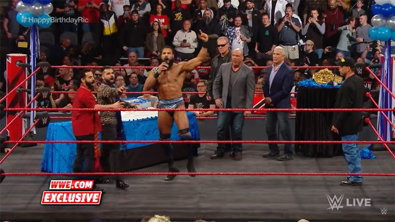 RAW, Monday Night Raw, Jinder Mahal, Kurt Angle, Sting, HBK, Ric Flair, Ricky Steamboat
