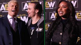 all elite wrestling interviews aew cody rhodes brandi nick jackson