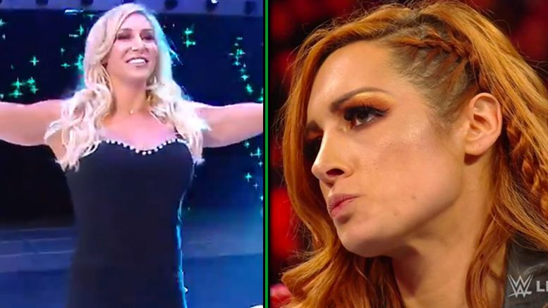 becky lynch charlotte flair wrestlemania 35 vince mcmahon decision raw reaction react