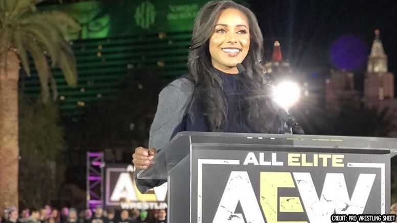 brandi rhodes aew all elite wrestling inclusivity