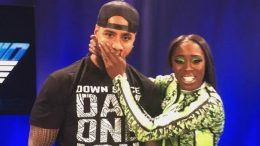 jimmy uso arrested wwe naomi car pulled over wrong side of street