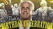 ric flair birthday celebration raw