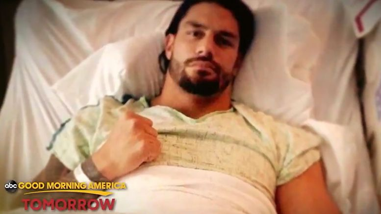 roman reigns good morning america announcement wwe raw cancer
