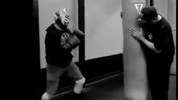 wwe, sin cara, lucha, lucha libre, training, boxing, recovery, injury, return
