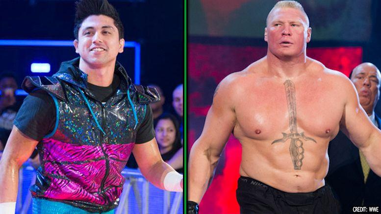 TJP, Brock Lesnar, Cruiserweight, WrestleMania, podcasts, WWE