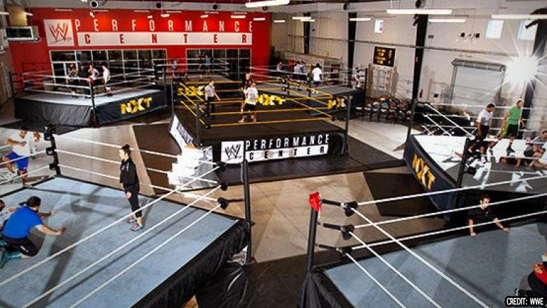 wwe performance center trainees revealed