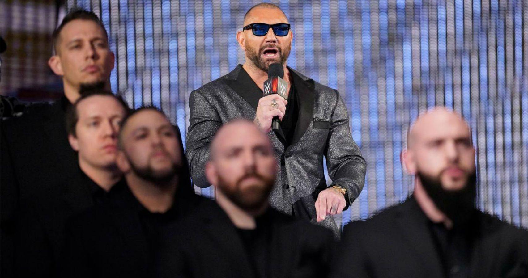 Batista, WWE, WrestleMania 35, WrestleMania, Triple H