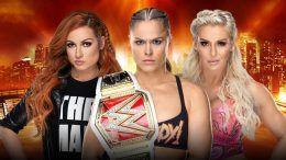 WWE, RAW, WrestleMania, Triple Threat, Charlotte Flair, Becky Lynch, Ronda Rousey