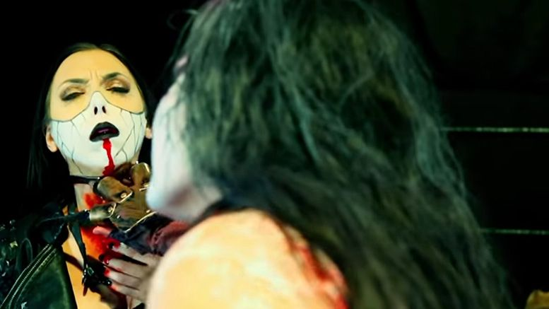 allie death death killed off impact wrestling undead realm video