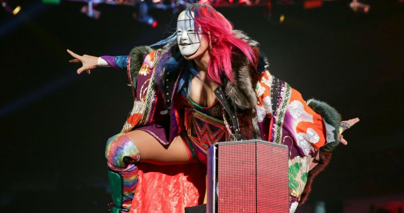 asuka possibly injured live event
