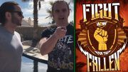 fight for the fallen young bucks location date all elite wrestling aew