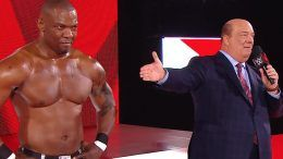 shelton benjamin paul heyman wwe raw brock lesnar seth rollins video
