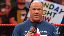 Kurt Angle, WWE, WrestleMania, Retirement, baron corbin