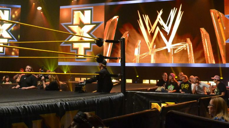 ach nxt tv debut wwe