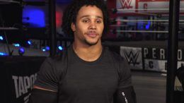 stacey ervin jr nxt wwe release concussion scare