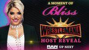 wrestlemania 35 host alexa bliss video