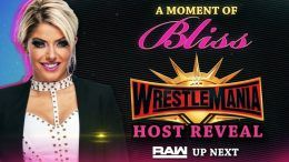 wrestlemania 35 host alexa bliss video