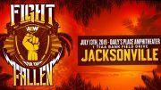 AEW, All Elite Wrestling, Fight For The Fallen, Kenny Omega, CIMA, Brandi Rhodes, Allie, Cody Rhodes