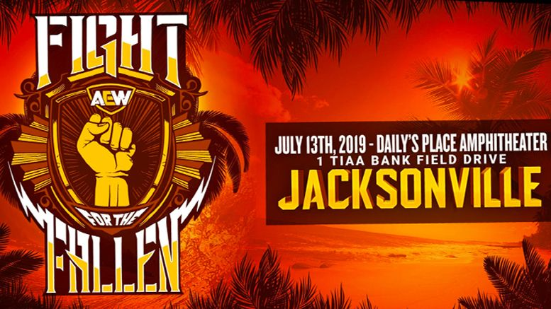 AEW, All Elite Wrestling, Fight For The Fallen, Kenny Omega, CIMA, Brandi Rhodes, Allie, Cody Rhodes
