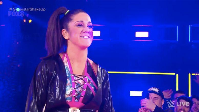 WWE, SmackDown Live, Raw, Bayley, Women's Division, Sasha Banks, Superstar Shake-Up
