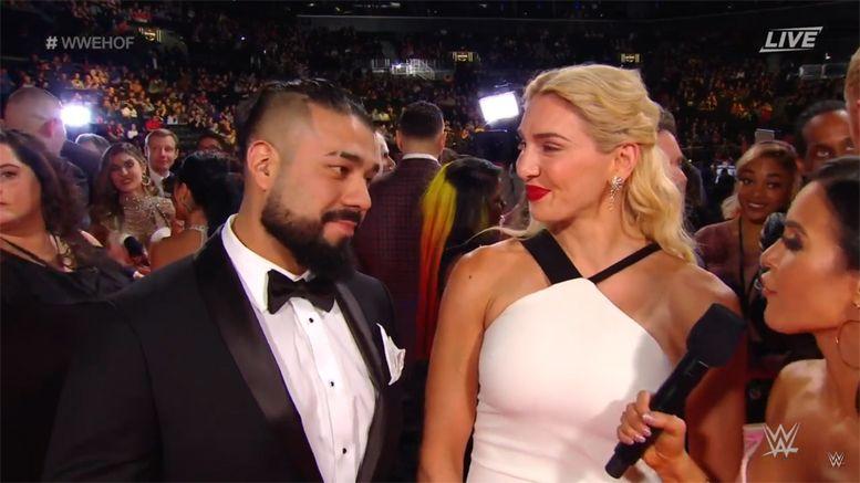 WWE, Hall of Fame, WWE Hall of Fame, Charlotte Flair, Andrade, Andrade Almas